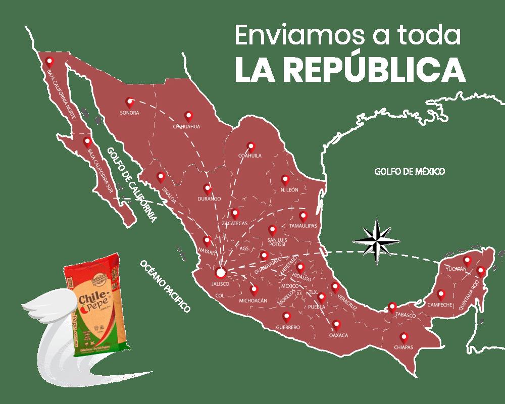 Enviamos a toda la República
